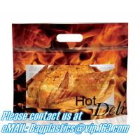 Wholesale Hot chicken bags, Polypropylene Pouches, rotisserie chicken bags, Stand up Pouches from china suppliers