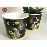 Wholesale Custom Blue Design Keep Calm Flower Paper Bowl For Water Plant from china suppliers