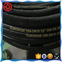 Wholesale DIN EN856 4SP/4SH 5/8'' inch high temperature steel wire braided hydraulic rubber hose from china suppliers