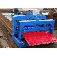 Wholesale Waterproof Glazed Tile Roll Forming Machine 13 Rows 75mm Principal Axis Dia from china suppliers