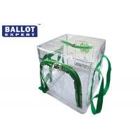 Quality Waterproof Collapsible Ballot Box Clear Disassemble 45 x 45 x 45 for sale