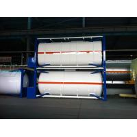 Quality Q345R 06Cr19Ni10 LNG Cryogenic Dewar , Cryogenic Storage Containers 2620*7882mm for sale