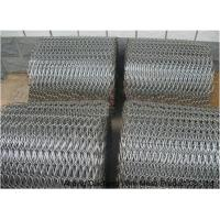 China Single Weave Stainless Steel Conveyor Chain Belt Mesh Length Customized on sale