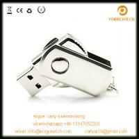 Wholesale Wholesale promotional metal swivel usb flash drive from china suppliers