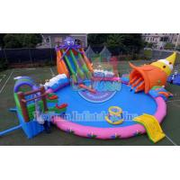 Wholesale 18M Octopus Inflatable Water Park Sports Deisgn Build Portable CE 14960 from china suppliers