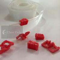 Wholesale Professional Mini Red Ziplock Zipper For PVC Bag , Color Customized from china suppliers