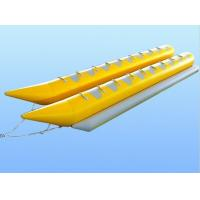 Wholesale Rent Plato PVC Tarpaulin Water Rider Banana Inflatable Boat With Double Tube from china suppliers