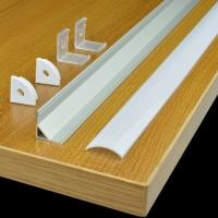 Wholesale TECLED 46 4Ft. Aluminum Profile for LED Strip/Tape Light Corner Mount Anodized from china suppliers