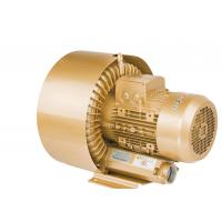 Buy cheap Double Stage 5.5kW Goorui Side Channel Blower for Water Treatment Golden Color from wholesalers