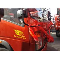 Buy cheap Two Seats Light Duty Trucks For Small Goods Transporting Cummins Engine With A / C from wholesalers
