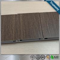 Wholesale ECO Friendly Wood Grain Aluminum Composite Panel , Composite Metal Panel Exterior Wall Decoration from china suppliers