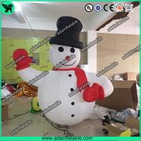 Wholesale Advertising Inflatable Snowman,Event Inflatable Snow Man, Party Inflatable Cartoon from china suppliers