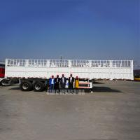 China 3 axles fences trailer fence truck trailer fence semi trailer for sale | CIMC TRAILERS on sale