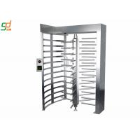 Wholesale Durable Full Height Turnstiles Access Passge System Security Rotary Turnstile Gate from china suppliers