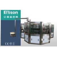 China PET Bottled Carbonated Soft Drink Filling Machine Combi 3 In 1 Bottling Equipment on sale