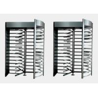 Wholesale Stainless Steel Full Height Turnstiles Door ,  Pedestrian Access Turnstile Barrier from china suppliers
