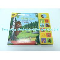 Wholesale Personalised Custom Animal Sounds Book Module ABS  + Cardboard Materials from china suppliers