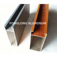 Wholesale Multifunctional Curtain Wall Aluminium Profiles For Decoration Rectangle Shape from china suppliers