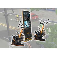 Wholesale 9 D VR Exercise Amusement Virtual Reality Bicycle Logo Customized For Arcade / Malls from china suppliers