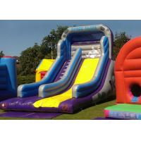 Wholesale Safety Logo Printing Commercial Inflatable Slide With Climbing Stairs from china suppliers