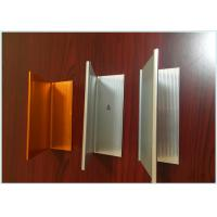 Wholesale Wood Grain Aluminum Railing Profiles , Engineering Aluminium Profile For Kitchen Cabinets from china suppliers