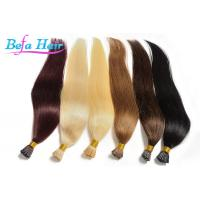 Wholesale 100% Virgin Peruvian 20 Inch Human Hair i Tip Extensions With No Mixture from china suppliers