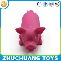 Wholesale wholesale press sound pink pig animal doll toys from china suppliers