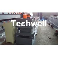 Wholesale Roof Ridge Cap Cold Roll Forming Machine with HRC 50-60 Cutting Blade from china suppliers