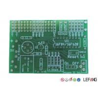 Wholesale Double Sided Fiberglass Circuit Board , Through Hole PCB With Green Ink from china suppliers