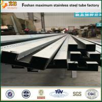 China Slotted shape SUS316 ASTM A554 stainless steel welded pipes on sale