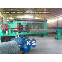 Wholesale Automatic Heavy Duty Hexagonal Mesh Machine for Making Stone Gabion Netting from china suppliers
