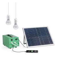 China 10Watt Portable safe Solar Power Backup Generator energy system for home on sale