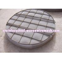Wholesale Customized Shape Moisture Eliminator Filter Mist Eliminator / Demister Pads With Frame from china suppliers