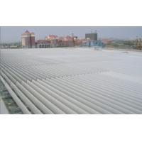 China PVDF Coating Louvre Roof Systems Adjustable External Facade Manual Control for sale