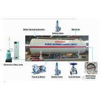 Wholesale 16 metric tons skid lpg gas filling plant for Nigeria Africa, 16MT mobile skid-mounted propane gas refilling station from china suppliers