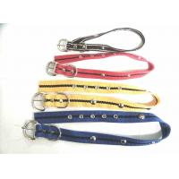 Wholesale Nylon dog  collar with bead from china suppliers