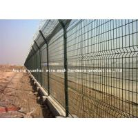 Wholesale 3D Curved Airport Security Fencing Rotproof Steel With Razor Barbed Wire from china suppliers