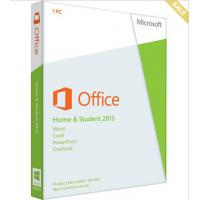 Wholesale Global Language PC Computer Software Microsoft Office 2013 Home And Student For Windows 32 / 64 Bits from china suppliers
