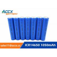 Wholesale 3.7V lithium rechargeable battery ICR14650 1100mAh 14650 li-ion battery for toy from china suppliers