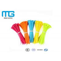 Wholesale Electrical Wiring Nylon Cable Ties Customized Total Length CE Certified from china suppliers