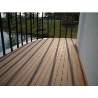 Wholesale Grooved outdoor wpc decking prices from china suppliers