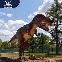 Wholesale Zoo Equipment Handmade High quality Animatronic Dino Realistic Dinosaur Models from china suppliers