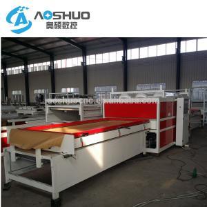 China Waterproof Film Covering Vacuum Membrane Press Machine For Wood Furniture Door on sale