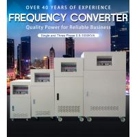 Buy cheap Small Custom Electric Frequency Converter 3 Phase Input 3 Phase Output from wholesalers
