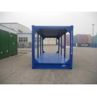 China Steel Shipping Container Frame 20ft High Cube Optional Color Customized Size for sale