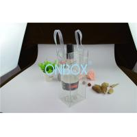 Wholesale Clear Transparent PVC Packaging Bags Custom Printing Logo For Travelling from china suppliers