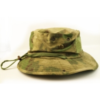 Buy cheap 100% Cotton Camo Bucket Hat With String Custom Embroidery Blank Logo from wholesalers