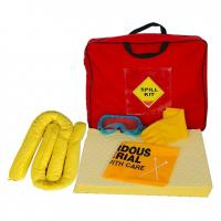 China 50L chemical spill kit, yellow color chemical absorbent spill kit,emergency spill kit, chemical cleaning kit on sale