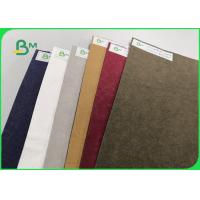Wear - Resisting Washable Kraft Paper For Backpack 0.55mm Natually Degradable for sale