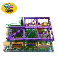 Kids Jungle Gym Indoor Obstacle Course Equipment Commercial High Strength Frame